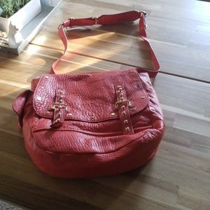 NWT Rebecca Minkoff Red Shoulder Bag